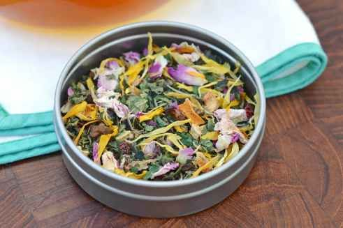 This Spring Tea blend recipe is the perfect way for you to stay nourished and feel fresh while enjoying the changing of the seasons!
