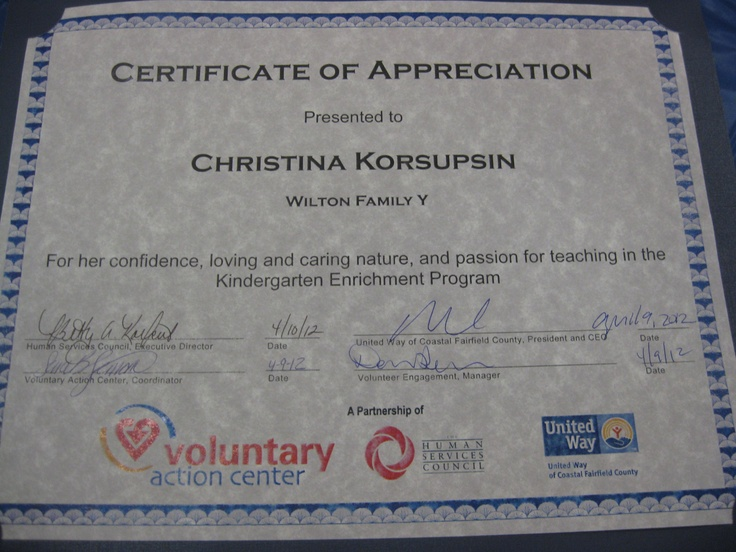 11 best images about certificates of appreciation for