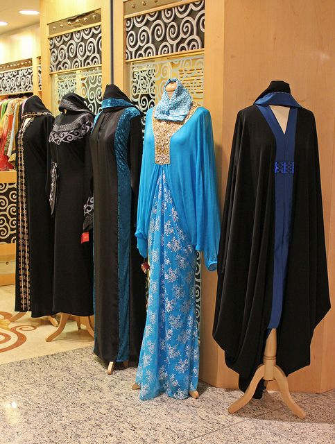 Dubai fashion. Chique abaya fashion shop