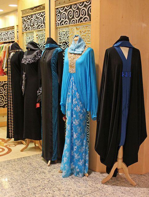 Dubai fashion. Chique abaya fashion shop