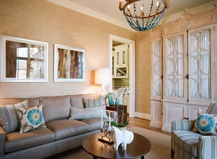 An Example Of A Good Neutral Room There Is Accent Color But The