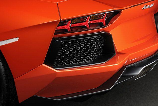 Lamborghini Aventador. Exterior