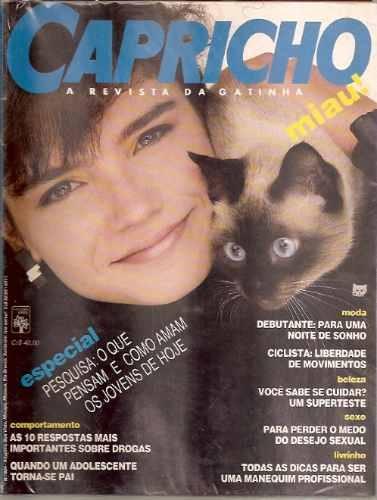 revista capricho anos 80