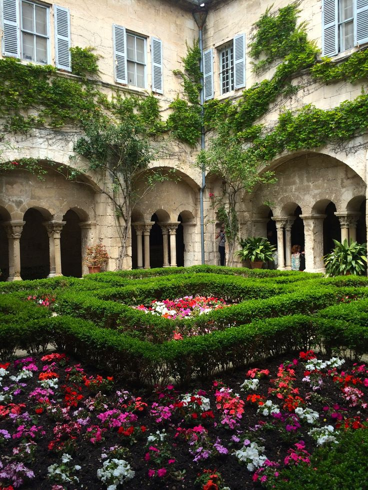 Saint Remy de Provence~ cloister garden