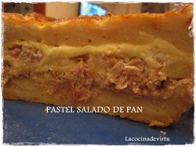 PASTEL SALADO DE PAN