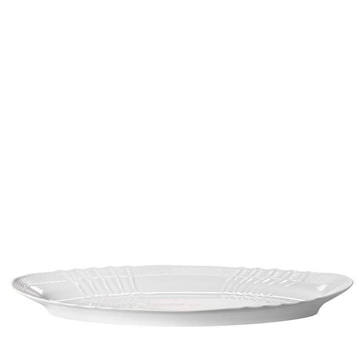 350.00$  Buy here - http://vizxy.justgood.pw/vig/item.php?t=iud0nw14441 - Richard Ginori Vecchio White Oval Fish Platter, Large 350.00$
