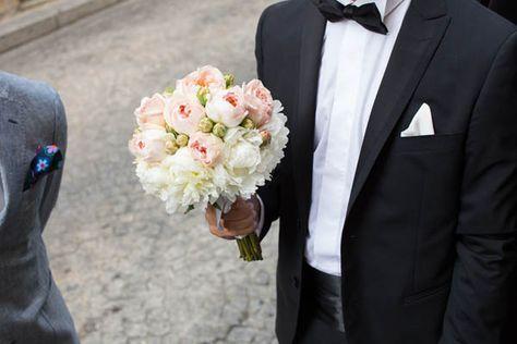Un matrimonio chic in grigio e rosa pesca: Stefania e Giovanni | Wedding Wonderland
