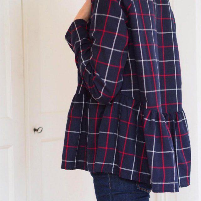 Marthe - République du Chiffon / coudre une blouse , patron de couture haut