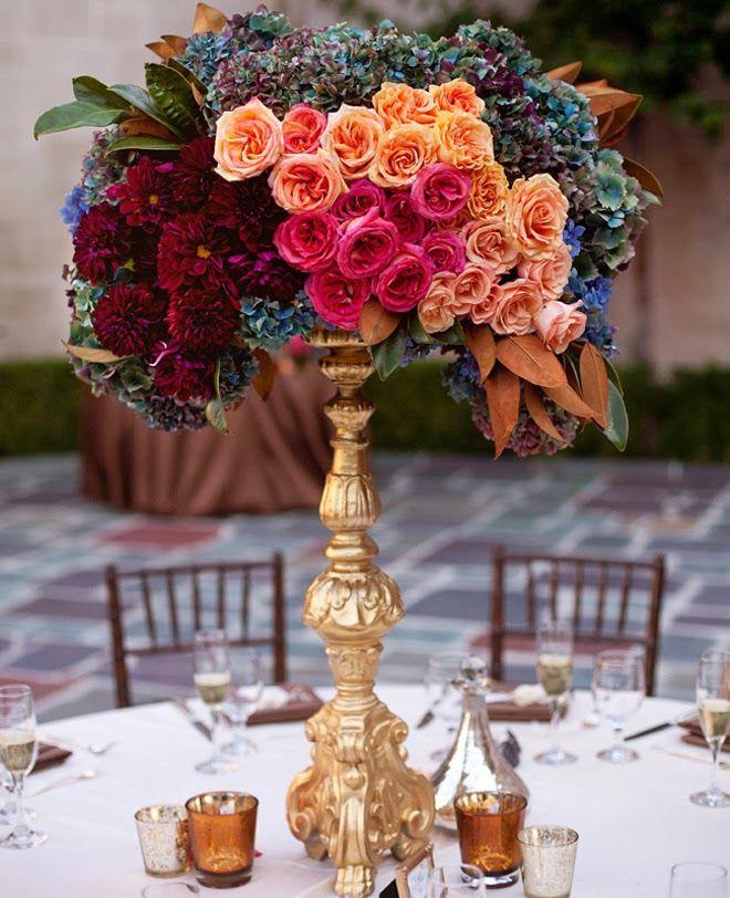 25 Stunning Wedding Centerpieces - 23th Edition ~ Vanessa Preziose Photography // Flowers: BloomBox Designs | bellethemagazine.com