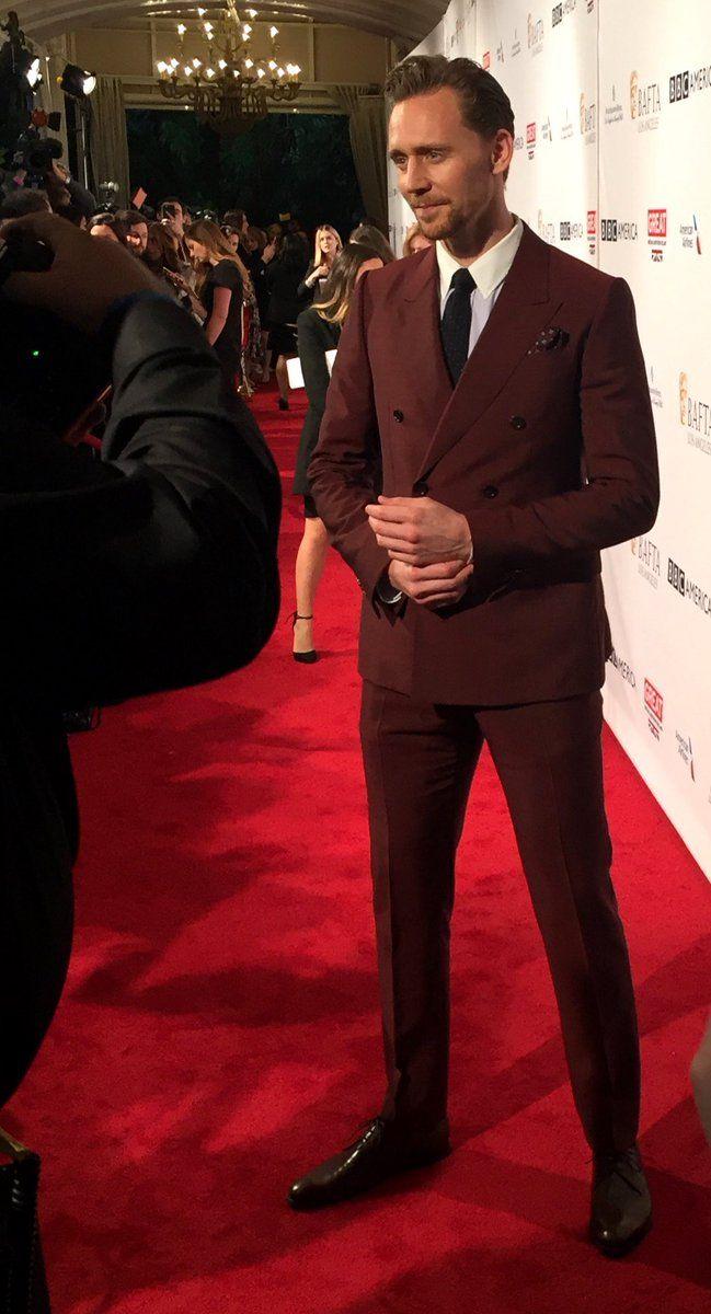 "@kristi_foreman: ""dashing! @twhiddleston on today's #BAFTAtea red carpet."" https://twitter.com/kristi_foreman/status/817888198042886144"