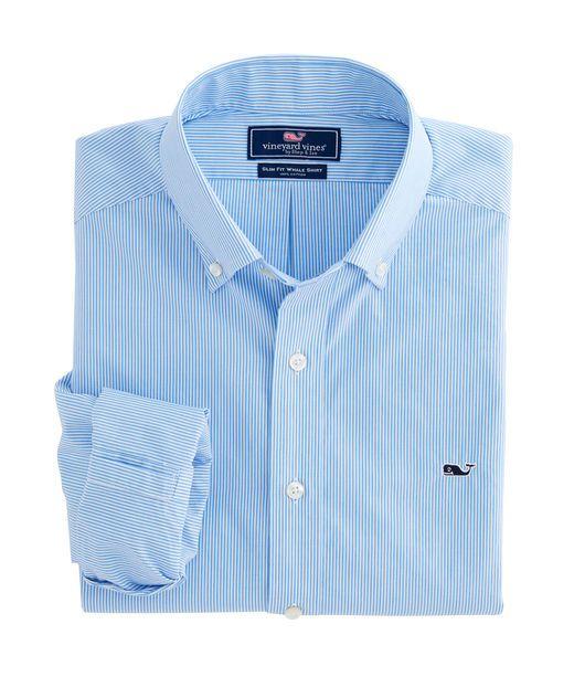 Scilly Cay Stripe Slim Whale Shirt
