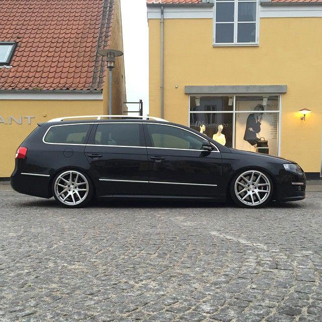 Black Passat b6 Rotiform