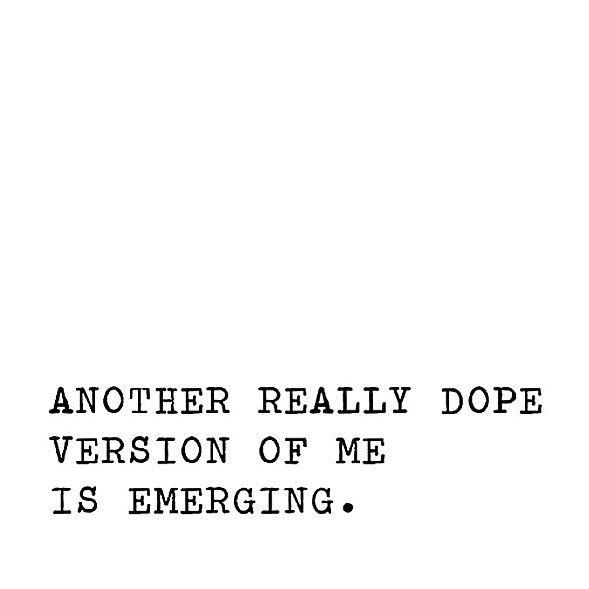 Keep evolving.