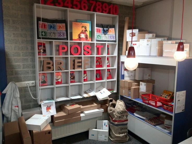 MOOIe invulling van een posthoek bij een klant gezien!