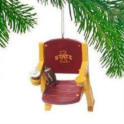 Iowa State Cyclones Stadium Chair Ornament