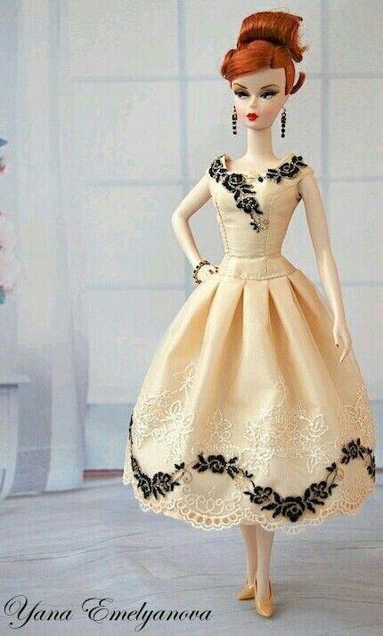 Pretty Silkstone BArbie Doll