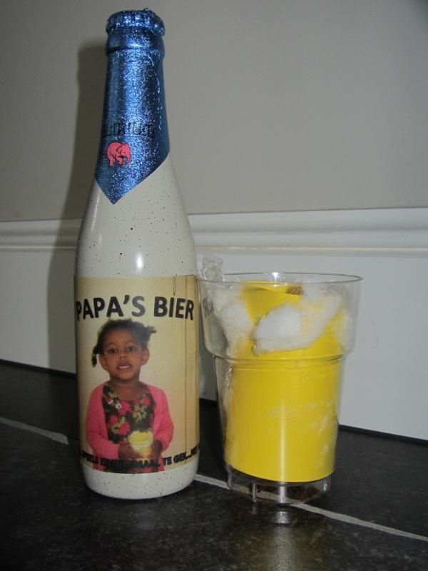 Vaderdag: bierglas vullen met iets leuks! Dropjes, sampeltjes....?!