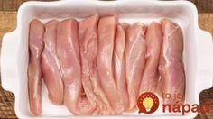 Na začiatku pár kúskov mäska, na konci pochúťka, ktorá vystrelí chuťové bunky na mesiac: Najchutnejší kurací kastról!