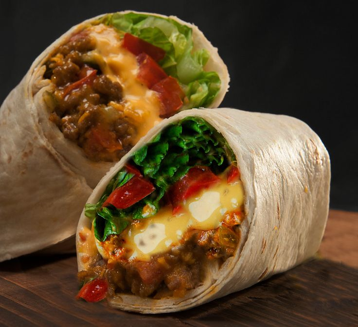 My mother used to make us these lovely cheeseburger burritos when we were kids, I remember how good it was and now I'm sharing her recipe with you guys!    You'll Need:    1 ½ lbs of lean ground