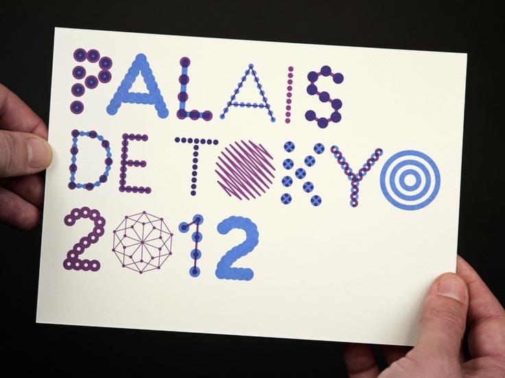 Palais de Tokyo / Carte de vœux