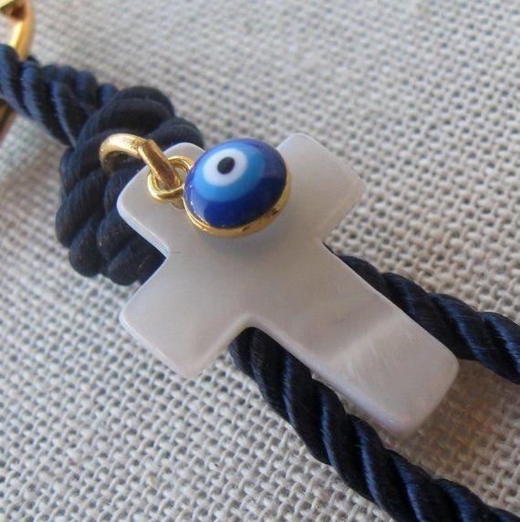 10 pcs Evil eye christening favors for boys and girls