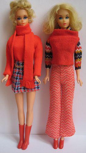 Barbie Quot Super Scarf Quot Amp Quot Zig Zag Bag Quot Both 1971 Barbie
