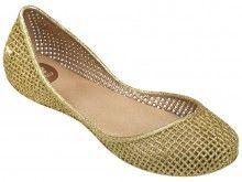 Zaxy zlaté balerínky Amora Fem Gold - 1220 Kč