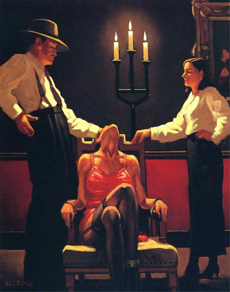 Jack Vettriano, 1951 | Dance me to the end of love