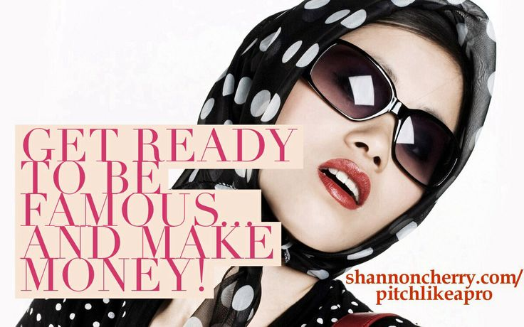 Time to get more publicity and become a known authority! http://shannoncherry.com/pitchlikeapro