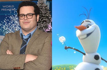 Josh Gad  voice of Olaf in FrozenJosh Gad Olaf