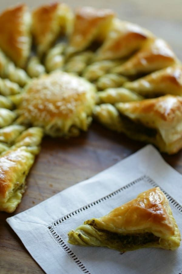 Tarte Au Soleil With Pesto Recipe Thanksgiving Recipes Puff