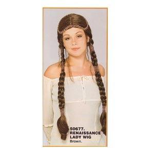 Renaissance Lady Wig (2 COLOUR OPTIONS)