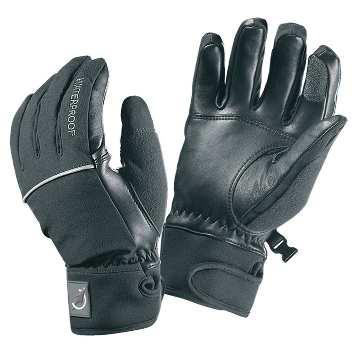 Sealskinz Ladies Winter Riding Glove waterproof & breathable, with  sheepskin leather palms