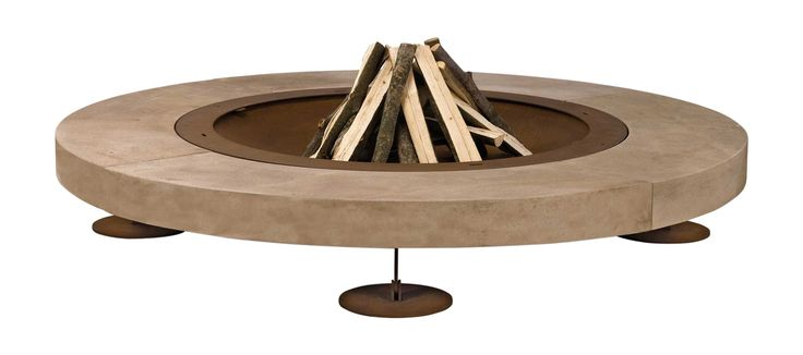 Buy Rondo Fire pit by Design Collectif - Quick Ship designer Accessories from Dering Hall's collection of Contemporary Rustic / Folk Industrial Mid-Century / Modern Traditional Organic Art Deco Fireplace Mantels & Accessories.