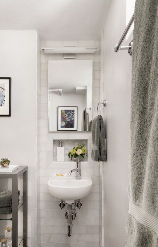 design small space solutions bathroom ideas. Make Your Small Bathroom Feel Bigger With These Three Design Tricks. Space Solutions Ideas T
