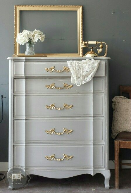 Refinished Malcolm High Boy French Provincial Style