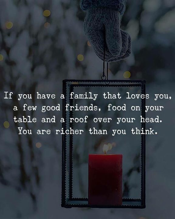If you have a family that loves you.. via (http://ift.tt/2CIbioM)