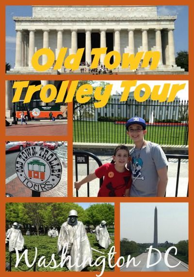 Old Town Trolley Tour DC #Travel
