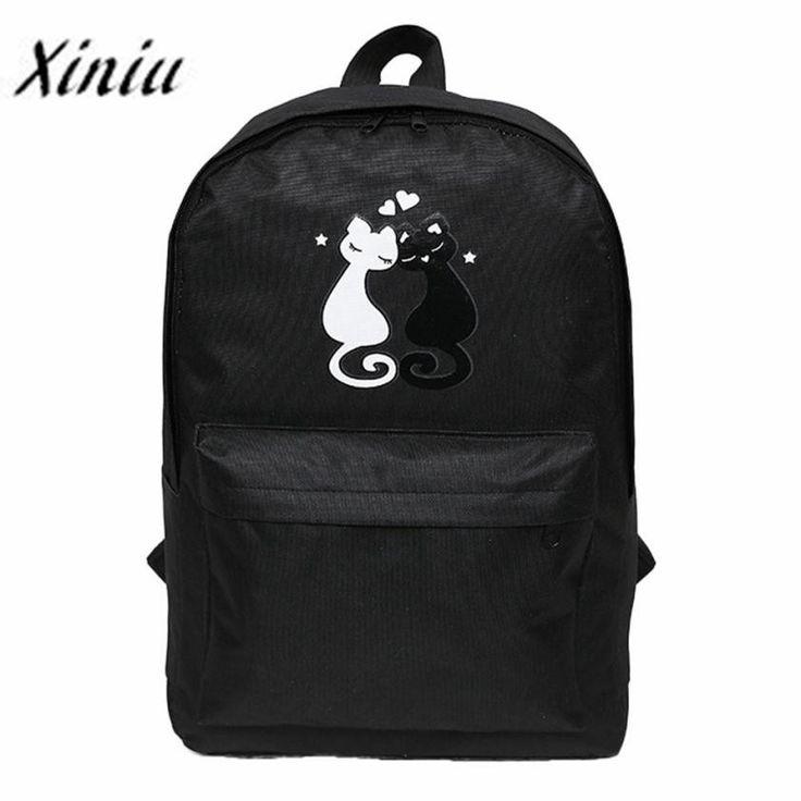 $7.80 (Buy here: https://alitems.com/g/1e8d114494ebda23ff8b16525dc3e8/?i=5&ulp=https%3A%2F%2Fwww.aliexpress.com%2Fitem%2FXiniu-bags-Women-s-Couple-With-Cat-Travel-Satchel-School-Bag-Backpack-School-Rucksack-Female-Bags%2F32781685607.html ) Xiniu bags Women's Couple With Cat Travel Satchel School Bag Backpack School Rucksack Female Bags for just $7.80