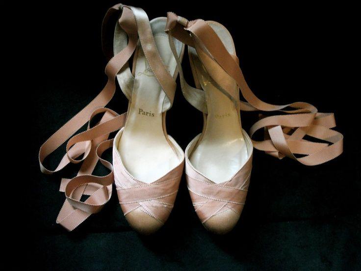 christian louboutin ballerina pumps