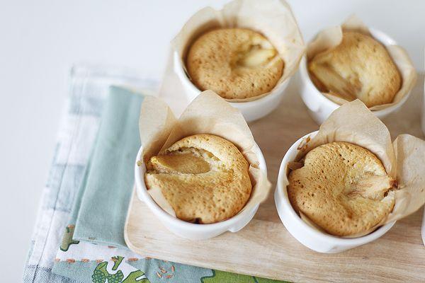 Чадейка - Пирожные с миндалем, грушами и белым шоколадом