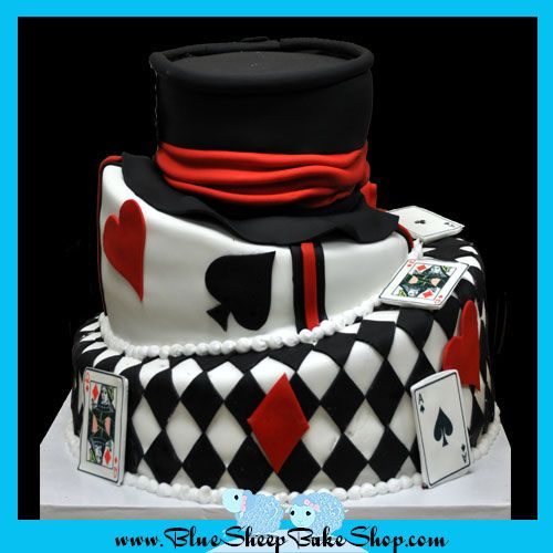 Topsy Turvy Mad Hatter Cake