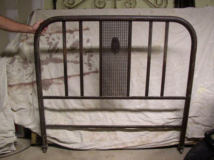 Simmons 1920 S Antique Vintage Metal Tubular Bed Frame