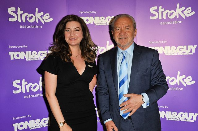 Baroness Karren Brady & Lord Alan Sugar at the Stroke Association's Life After Stroke Awards 2014