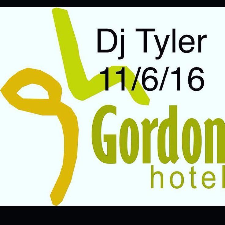 Dj Tyler playing from 9pm till late in the bar  #portland#thegordon#dj#music#pub by gordonportland