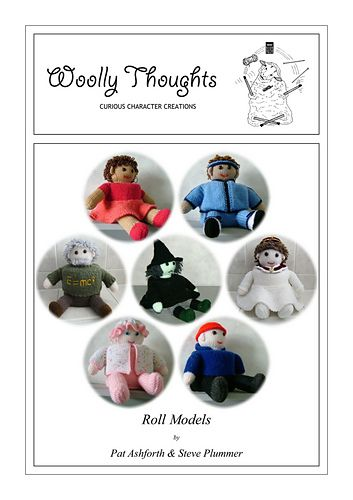Ravelry: Roll Models  Ebook with 7 character patterns