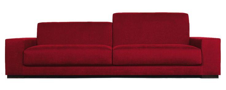 Sancal / Красный диван / Современный диван Eleva