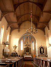 Bánffyhunyad, Római katolikus templom, Fotó: WR