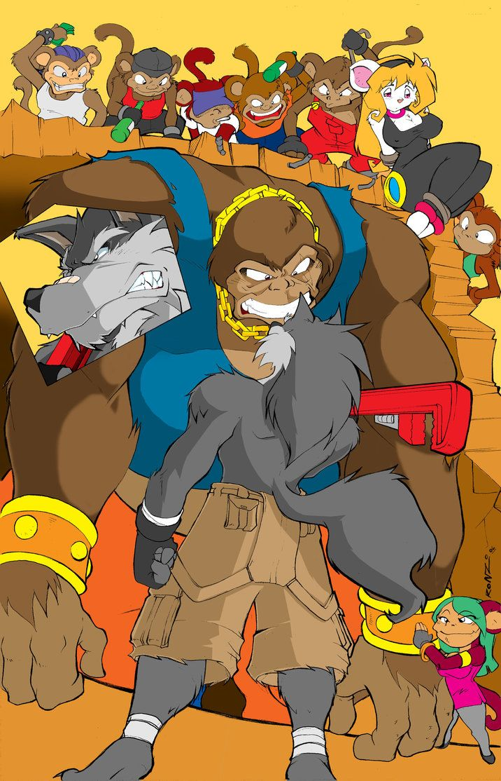 Shred versus gorilla by ShoNuff44
