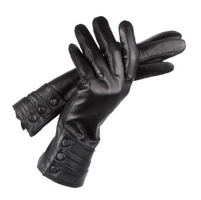 Sheepskin Genuine Leather Gloves from sheerFAB.com :$39.95   These soft, genuine leather women's (sheepskin) gloves are also touch screen friendly and work with all capacitive touch screen devices. Warm, comforting and a classic design waiting to be enjoyed and worn out on the town.   - Soft Luxurious in Classic Black  - Pure Leather (100% Sheepskin) in stock now at: http://bit.ly/1GUY1j3 (4 photos)